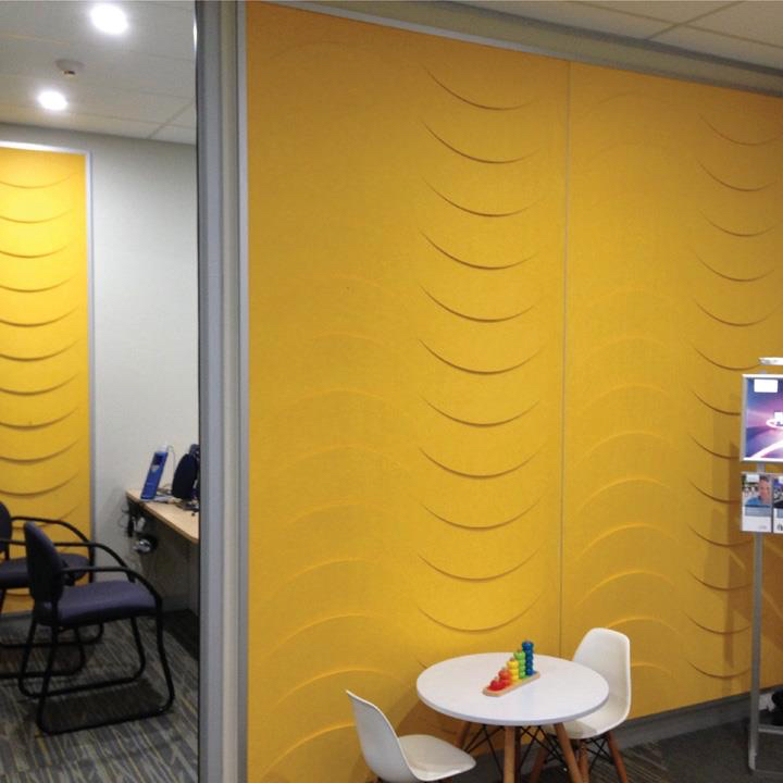 Zintra Acoustic Patterns in Illuminating Yellow